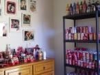 Coleção de latas de Coca-Cola