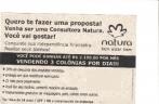 CONSULTOR (A) NATURA