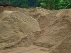 Areia Grossa para Construções!
