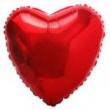 Balão Metalizado Coração - Vazio