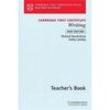 Livro - Cambridge First Certificate: Writing: Teacher ´ s Book - 9780521624848