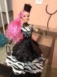 bonecas com vestino de EVA