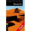 Livro + CD - Factfiles: Deserts - Level 1 - Janet Hardy - Gould - 9780194236300