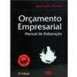 Livro - Orçamento Empresarial: Manual de Elaboração + Disquete 169788 - 9788522430000