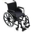 Cadeira de rodas AVD aluminio 40cm preta - Ortobras 2971341