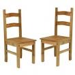Duas Cadeiras Em Madeira Maciça CH105 8566524