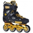 Patins Oxer Freestyle - In Line - Freestyle / Slalom - ABEC 9 - Base de Alumínio 9426491