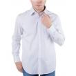Camisa Masculina AR1712VN Manga Longa Arrow - Branco / Rosa 7821479