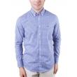 Camisa Masculina TH0887883918 Manga Longa Tommy Hilfiger - Azul / Branco 7690491