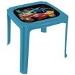 Mesa Mesinha Infantil Com 2 Cadeiras Carros Azul Meninos 6780513