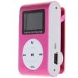 Mini Mp3 Player Clip com Visor e F Entrada para Cartão de até 8 GB Fone de Ouvidos e Cabo USB 6622613
