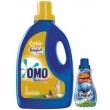Kit Detergente Líquido Omo Comfort Energy 3L - 1 Unidade + Amaciante Comfort 500ml - 3 Unidades 1000063632