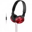Fone De Ouvido Com Microfone Integrado Mdr - Zx310Ap Preto / Vermelho Sony 9447029
