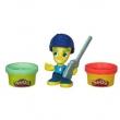 Conjunto Hasbro Play - Doh Town Policial 7814180