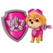 Boneco com Distintivo - Patrulha Canina - Skye - Sunny 5074637