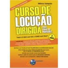 Livro CURSO DE LOCUCAO DIRIGIDA PARA TODAS AS PROFISSOES 2766295