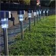 Luminária Solar Jardim 10 peças em Aço Inox EC11044 - 1386 2300361