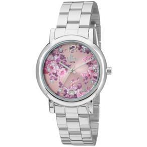 Relógio Allora Feminino Poesia Em Flor - Al2035Fae / 3T - Prata 7882869