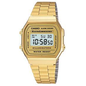 Relógio Casio Unissex Retrô A168WG - 9WDF