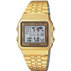 Relógio Casio Unissex Vintage World Time A500WGA - 9DF 6071032