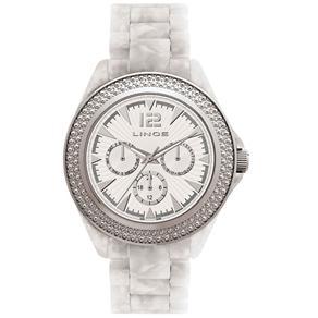 Relógio Feminino Analógico Quartz Lince SMP4085L S2TX - Branco 473610