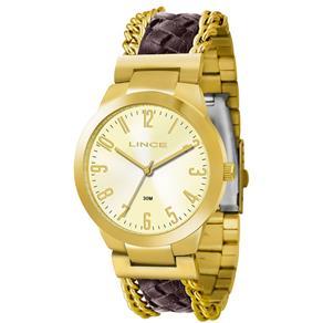 Relógio Feminino Lince Analógico LRC4238L 02310929 marrom 8221888