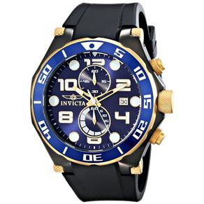 Relógio Masculino Invicta Pro Diver 17814 50mm Preto 7481212