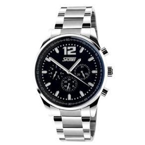 Relógio Masculino Skmei Analógico 9080 Pr - Pt 9303772