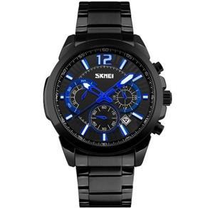 Relógio Masculino Skmei Analógico 9108 Pt 9303793