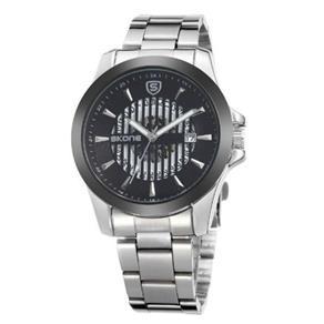 Relógio Masculino Skone Analógico 7232Bg - Pt 9730285