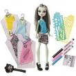 Boneca Monster High Mattel Frankie Stein Estilos Arrepiar 10079694
