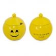 Açucareiro MondoCeram Diverticon Felicidade em Cerâmica 300ml 9051142