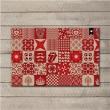 Capacho Decorativo Haus For Fun Mix Divertido 60x40cm - Colorido 4150141