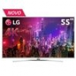 Smart TV LED 55 ´ Super Ultra HD 4K LG 55UH7700 com Sistema WebOS, Wi - Fi, Painel IPS, HDR Super, Controle Smart Magic, Entrada