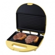 Sanduicheira Grill Philco Mini Grill em Aço Escovado - Inox / Amarelo 8521282