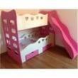 Beliche Infantil para Meninas Princesas com Gaveta para Colchão de 188x88 5428990