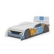 Cama Kappesberg D300 Branco com Azul 5552542