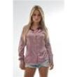 Camisa Feminina Naomi - Pimenta Rosada 6944353