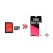 Cartão de Memória para Asus Zenfone 2 16Gb e Capa Transparente - Underbody