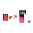 Cartão de Memória para LG Optimus L70 16Gb Ultra Classe 10 e Capa Transparente - Underbody 8150093