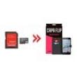 Cartão de Memória para Microsoft Lumia 950 32Gb e Capa Flip Preta - Underbody 8149841