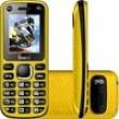 Celular Freecel, Free Cross, Desbloqueado, Dual Chip, Tela De 1.7``, Camera Vga, Bluetooth, Mp3 E Radio Fm - Amarelo