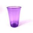 Copo Plástico Neon 300Ml C / 25Un Roxo 5241631