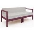 Sofá Lazy Módulo 2 Lugares com Almofada Mão e Formão 6608950