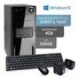 Computador 3Green Triumph Business Desktop Intel Dual Core G1820 4Gb Hd 500Gb Windows 10 8010021