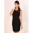 Vestido Tubinho com Correntes Feminino Facinelli 8083278