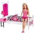 Boneca Barbie - Movel Com Boneca - Quarto - Mattel 7881486