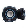 Caixa de Som 6.0W RMS Goldentec GT Sound 2.0 Preto / Azul 5500536