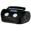 Caixa de Som Portátil Multilaser Boombox MP3 Player Rádio FM Entrada USB Auxiliar Cartão Memória 15W - Preto