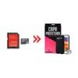 Cartão de Memória 16Gb para Samsung Galaxy Core 2 Duos e Capa Preta - Underbody